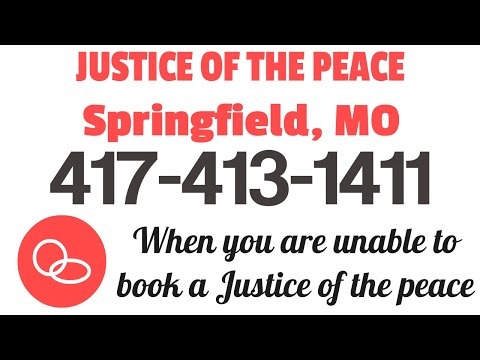 Justice Of The Peace Springfield MO   417-879-4079