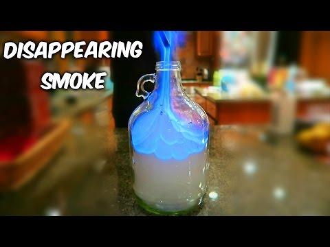 Vanishing Smoke - Science Experiment