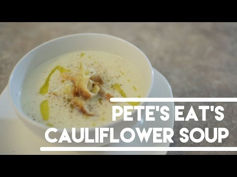 Creamy Cauliflower Soup - Easy + Quick