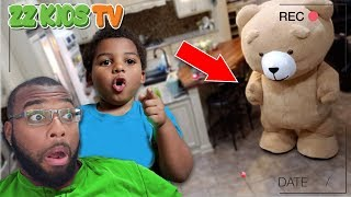 Download TEDDY CAME TO LIFE & it was CAUGHT ON CAMERA! (How did this happen?)