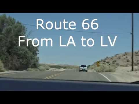 USA 2016 Roadtrip - Route 66 from LA to LV