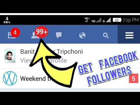 How to increase Facebook followers and Get auto friend requests