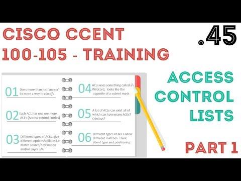 Cisco - CCENT/CCNA R&S (100-105) - ACL - Access Control List - Part1 .45