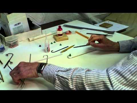 Choo Choo Barn - How to make a Miniature Lamp Post