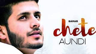 Chete Aundi (Motion Poster) | Samar | Rel. on 26 sept. | White Hill Music