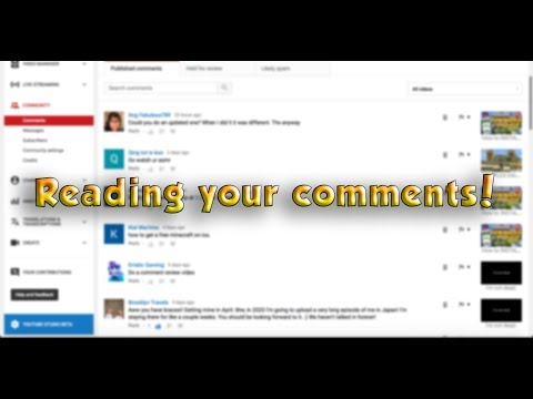 1K Subscriber Special! | Reading YOUR Comments! | (Very late, I know)