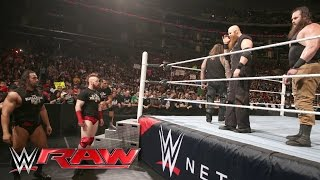 Bray Wyatt helps Roman Reigns repel The League of Nations: Raw, April 11, 2016