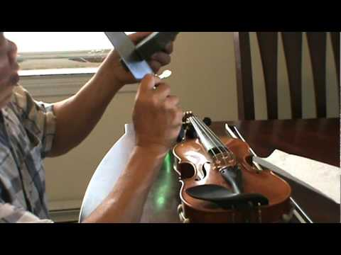 How to make a Violin Mute