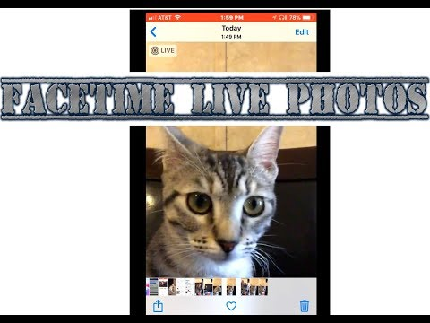 How To - Take and Disable Live Photos in FaceTime on the iPhone