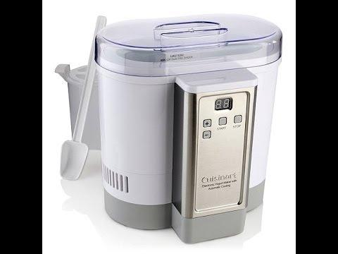Cuisinart Electronic AutoCooling Yogurt Maker