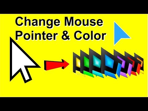 How to Change Mouse Pointer Size and Color in Windows 10,7,8.1