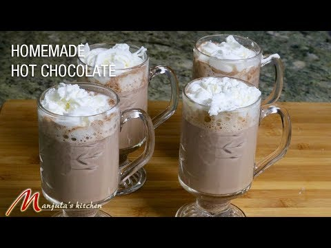 Homemade Hot Chocolate (Quick and Easy) Recipe by Manjula
