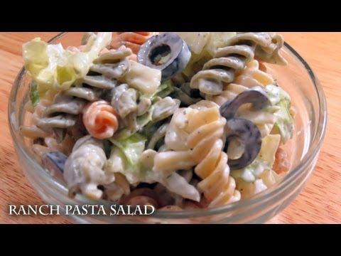 Ranch Pasta Salad - recipe
