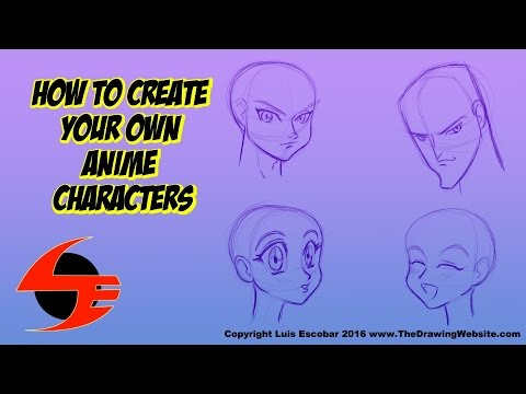 How to Create Your Own Anime Characters