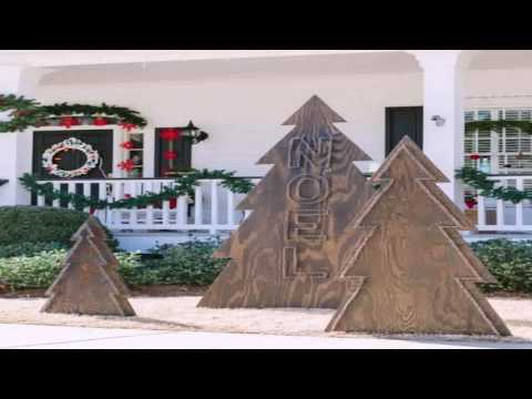 Diy Outdoor Christmas Present Decorations