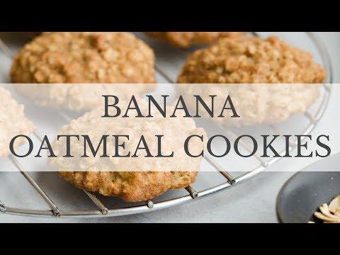 Banana Oatmeal Cookies Recipe