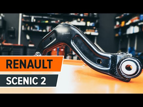 How to replace front lower arm on RENAULT SCÉNIC 2 TUTORIAL | AUTODOC