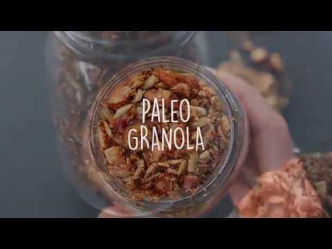 GRANOLA homemade | Paleo, grain-free