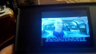 Star Wars KOTOR on Nintendo DS Lite