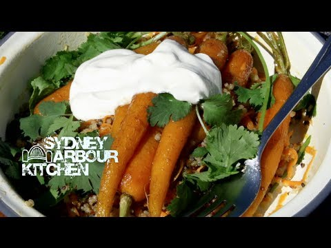 How to make Carrot & Quinoa Salad with Giraffes! - Sydney Harbour Kitchen Ep 10