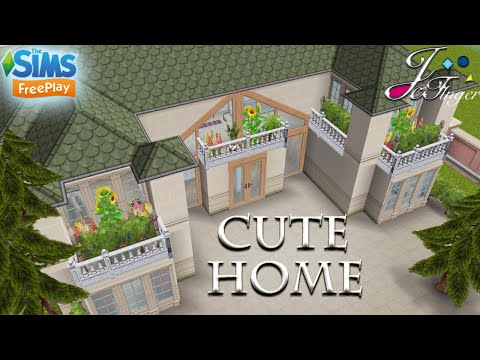 The Sims FreePlay 😻| CUTE HOME |😻