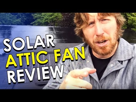 Solar Attic Fan Review | How to Cool Your Hot Attic Using Solar Fans | Solar Royal Review