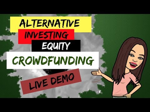 How to Invest Money in Startups  Equity Crowdfunding Live Demo