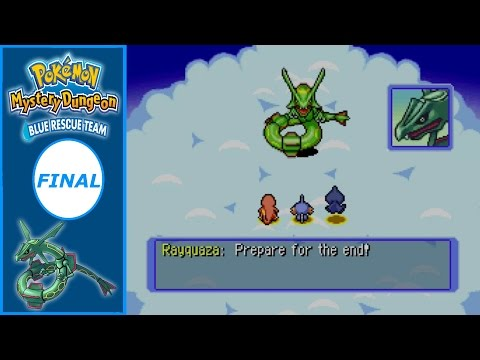 RAYQUAZA! - Pokémon Mystery Dungeon: Blue Rescue Team | FINAL