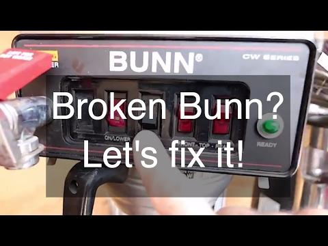 Repairing a BUNN CWTF15 Coffee Maker - Leaking Bunn Coffee Maker