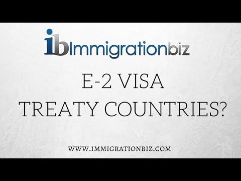 E2 Investor Visa for the USA  - Treaty Countries