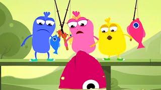 Lets Go Fish | Mad Beans Funny Kids Show | Children's Episodes