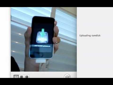 How to jailbreak iPod touch 2G iOS 4 (4.0) using redsn0w (Get Multitasking and wallpaper)