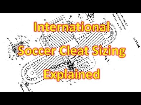 What Size Do I Need? - International Soccer Cleat/Football Boot Sizing Explained