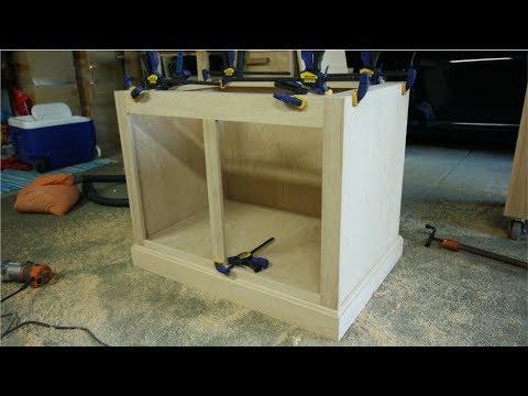 Building A Solid Oak Hutch! | Part 3