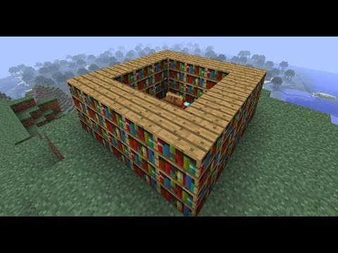 Minecraft: how to make enchantment table stronger - (minecraft make enchantment table stronger)