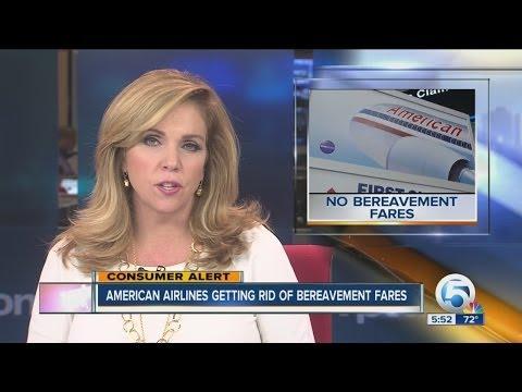 American getting rid of bereavement fares