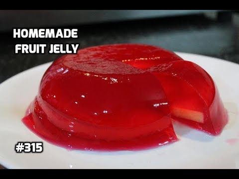 Homemade fruit jelly || How To Make Jelly At Home || Muskmelon Jelly ||