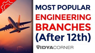 After 12th | 7 Most Popular Engineering Branches in India | Highest Paying Engineering Jobs
