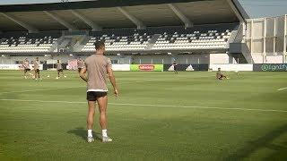 RONALDO VOLLEY CHALLENGE w/Dybala, Douglas Costa..