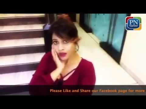 Miss Pooja selfie video . Kiven lageya ?????