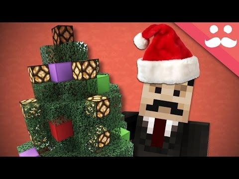 How to make a Redstone CHRISTMAS TREE in Minecraft!