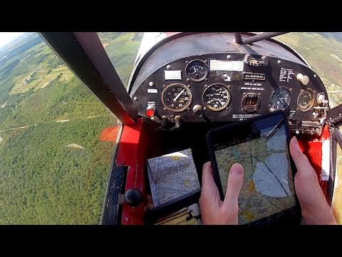Super Cub with ForeFlight - High tech Flight Planning - Low tech Flying Tail Wheel