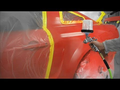 How to Paint a Car - Autobody Repair