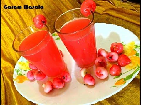 Chambakka Soda / Rose Apple Soda / Juice