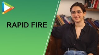 """One Common thing between Ayushmann and Aamir Khan is…"":Sanya Malhotra 