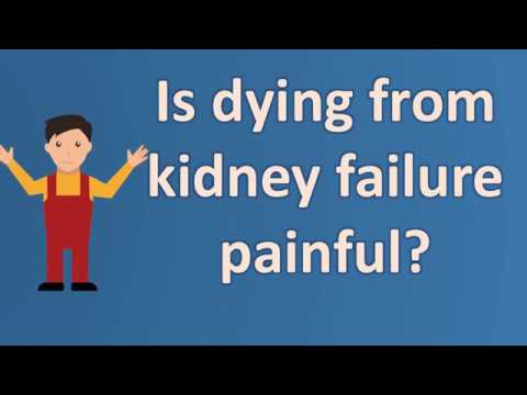 Is dying from kidney failure painful ?