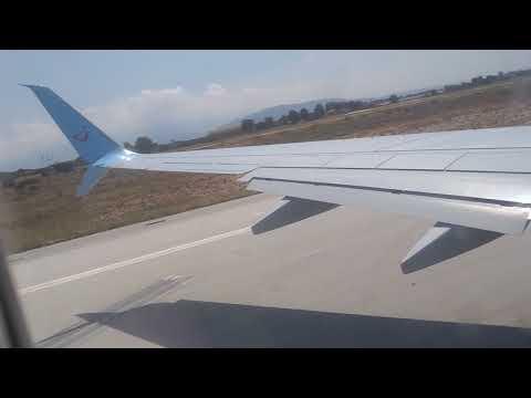 Take off TUI airways Chania ( Crete ) to Manchester