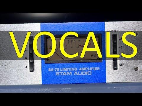 Stam Audio SA-76 Vocals Demonstration