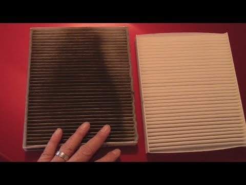 How to replace the Cabin Air Filter in a 2013 Ford Taurus
