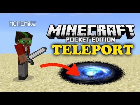 ✔ How to Teleport V2 - Minecraft PE